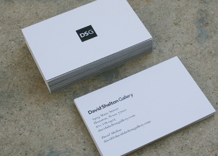 Marley s diehl business cards for a contemporary art for Contemporary business card design