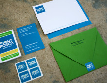 print collateral for a new real estate company